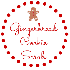 Gingerbread Cookie Scrub Free Label