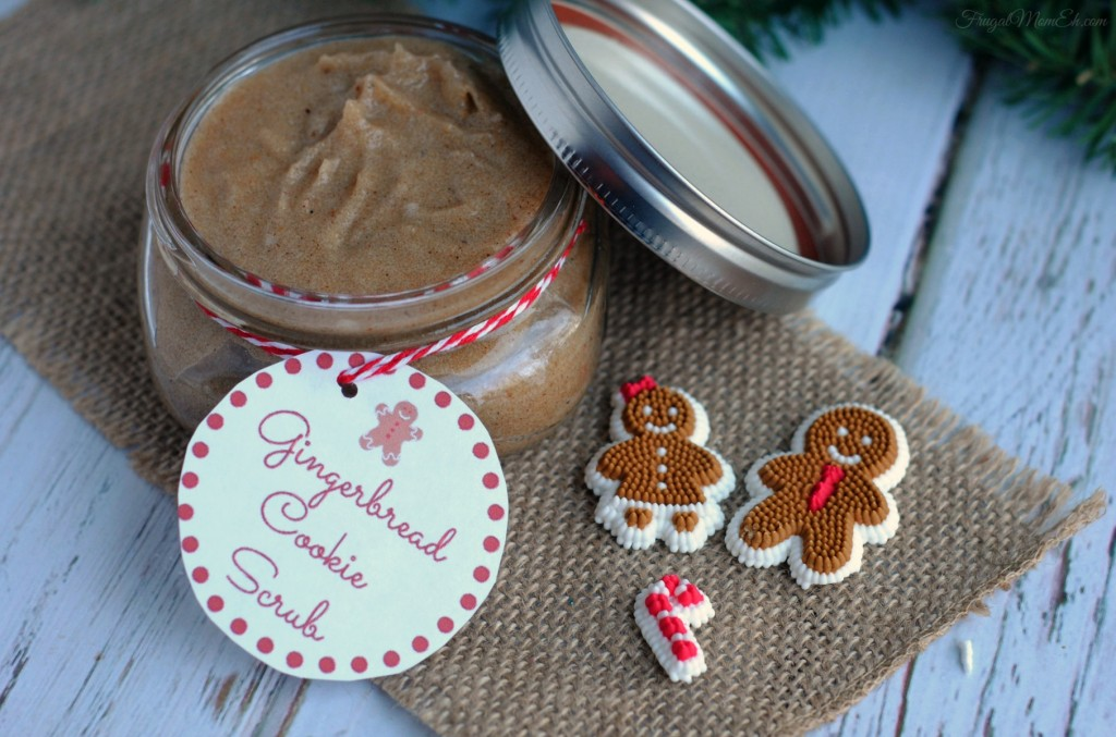 Gingerbread Cookie Scrub
