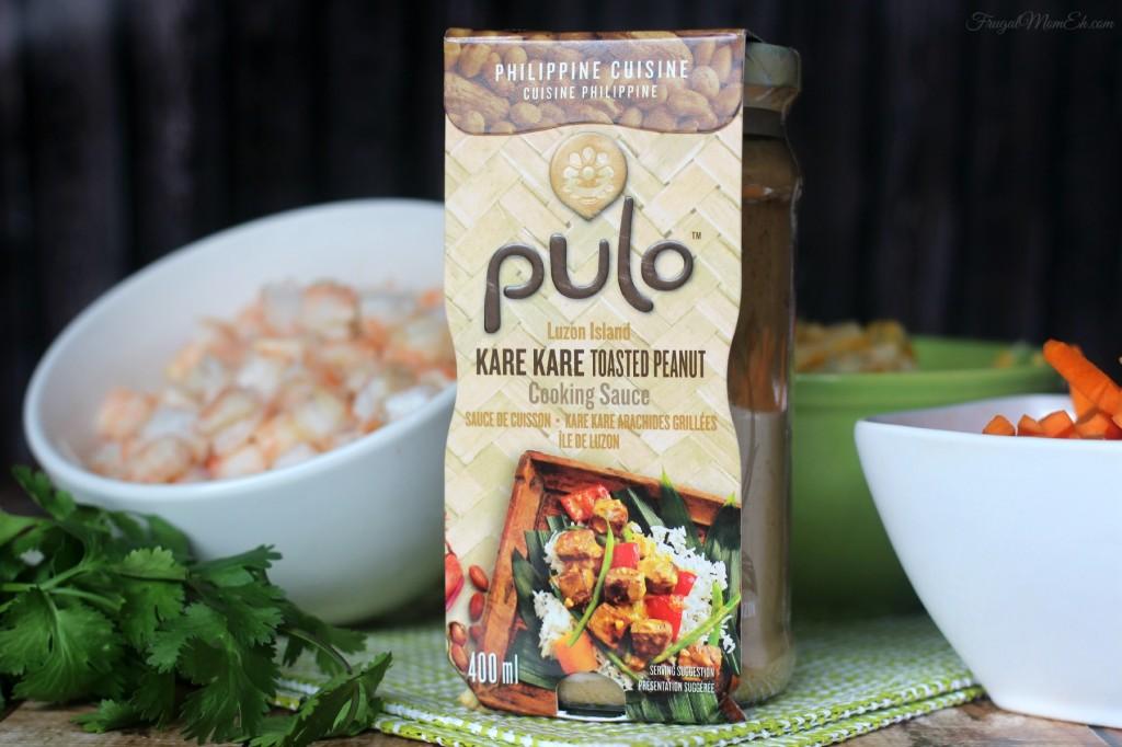 Kare-Kare Shrimp Quesadilla