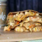 Kare-Kare Shrimp Quesadillas