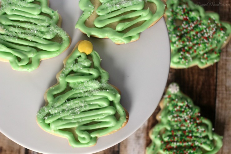 Sour Cream Sugar Cookies with Cream Cheese Icing