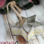 Vintage Washi Tape Ornaments