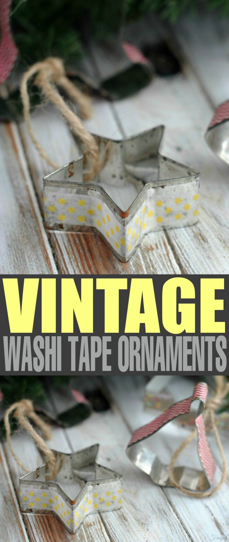 These Vintage Washi Tape Ornaments are a great diy Christmas idea. If you are looking for easy crafts with a tutorial check this out.