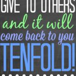 Give to Others #LifeAdvice