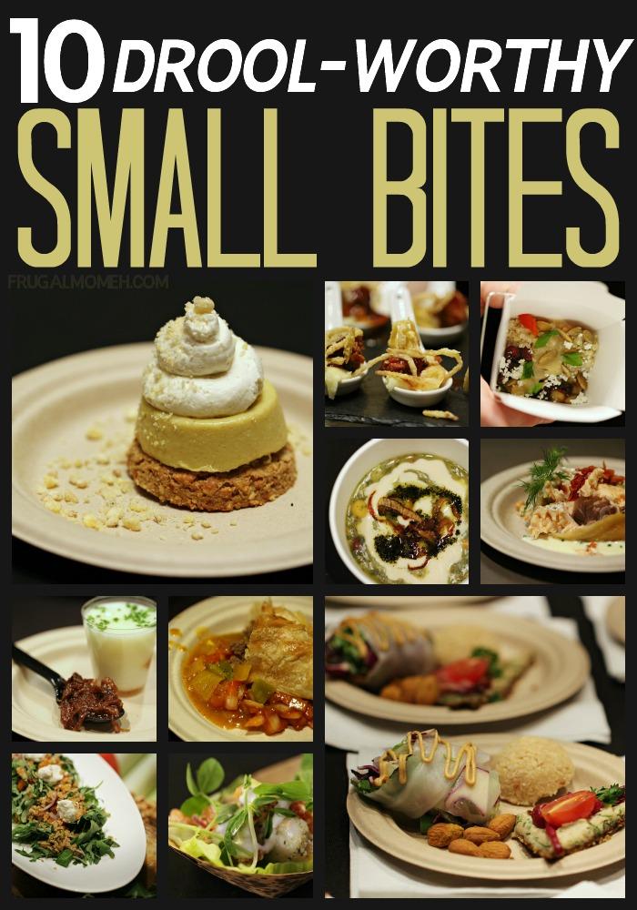 10 Drool-Worthy Small Bites