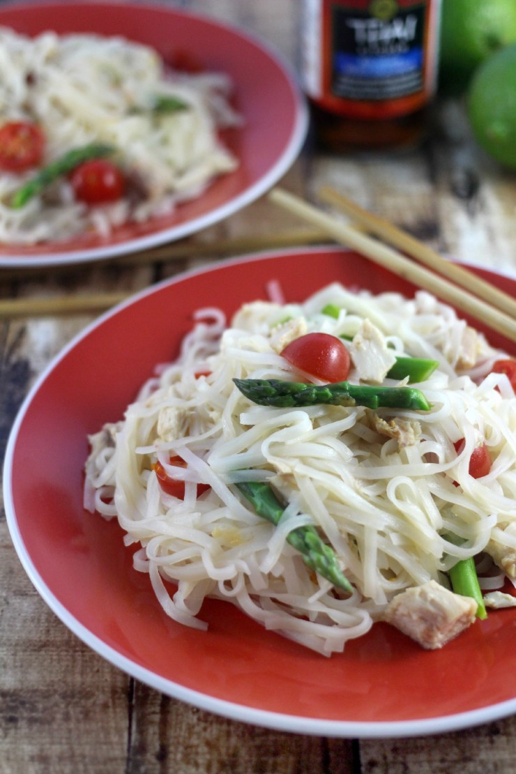 Asian Spring Noodle Salad