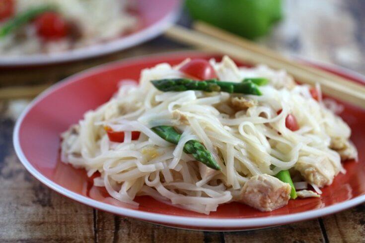Asian Spring Noodle Salad