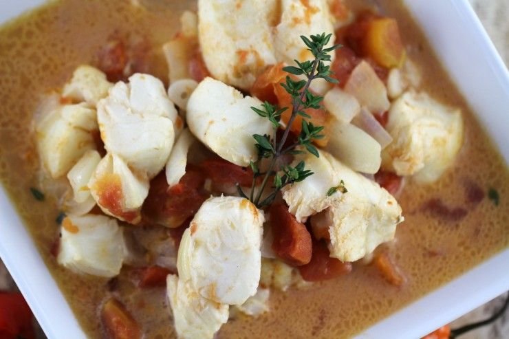 Coconut Poached Cod