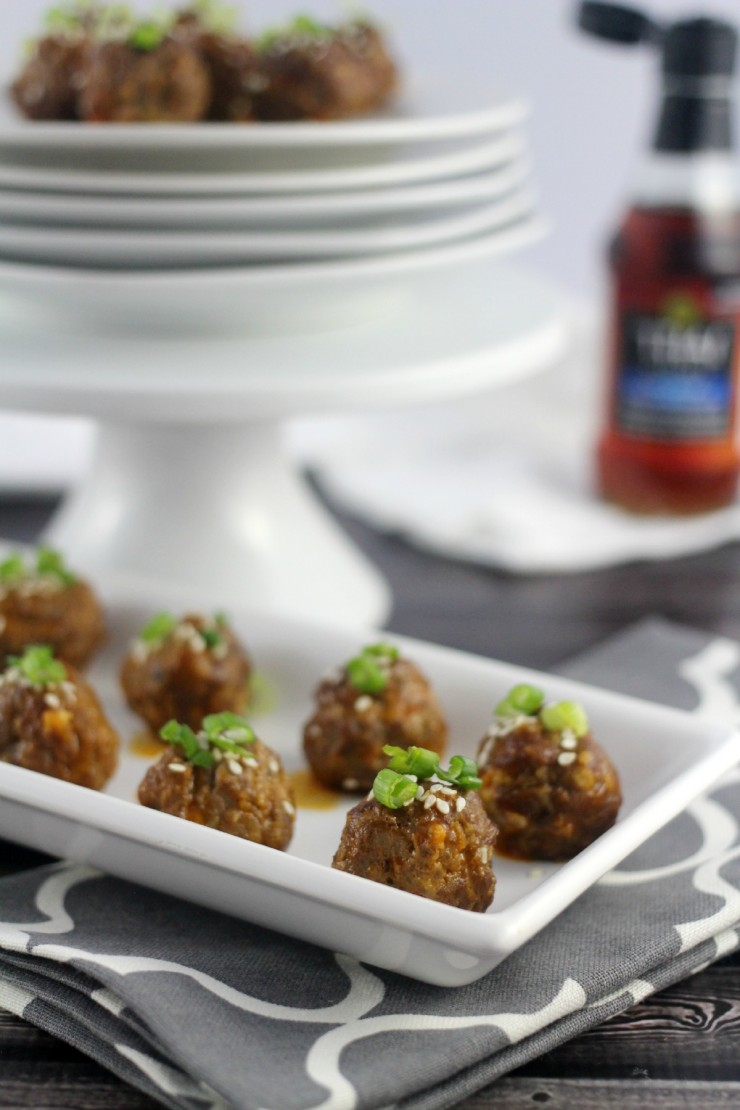 Thai Cocktail Meatballs #TKeveryday
