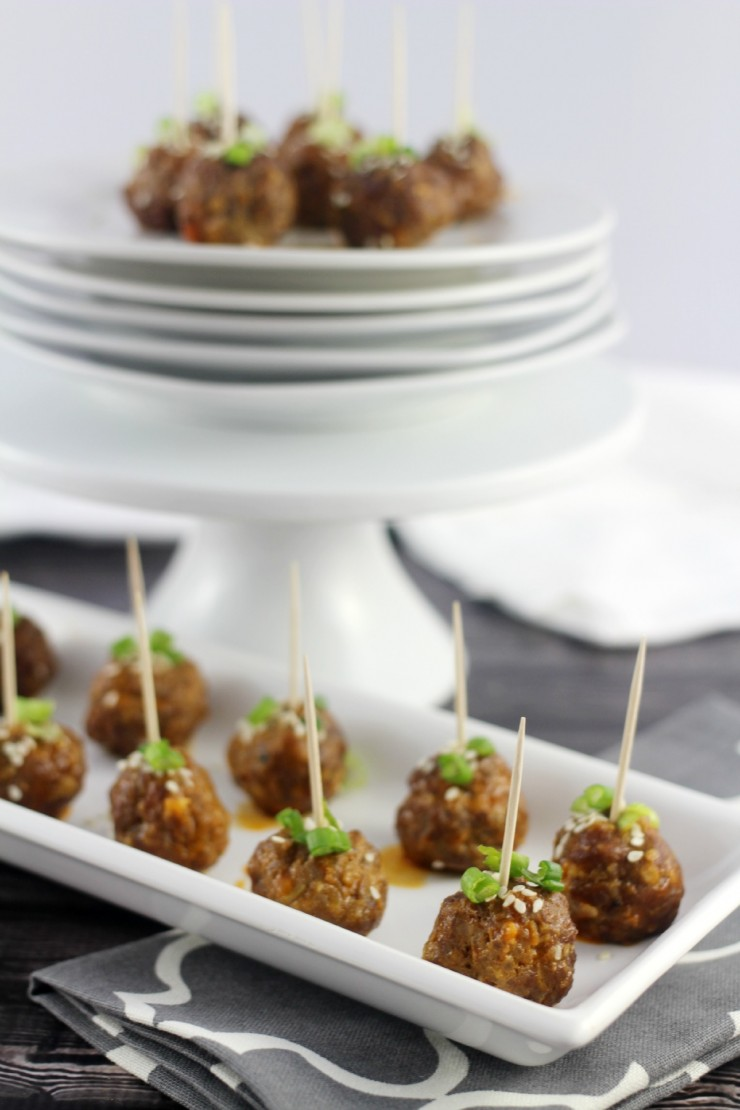 Thai Cocktail Meatballs are a fab way to change up a staple appetizer that will have everyone begging you for the recipe.  One of my favourite appetizers!