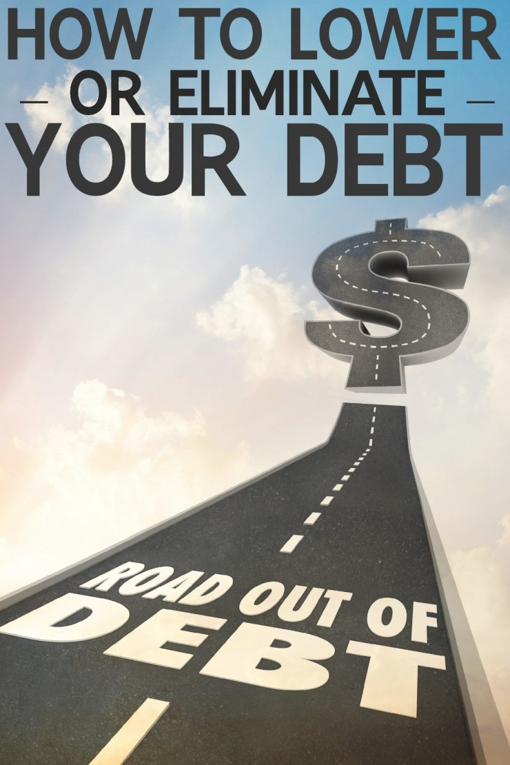 How to Lower or Eliminate Debt in just 5 steps! (#2 Had me out of debt the stress free way!)