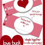 "Free Valentine's Day Printable ""Love Buck"" Coupon Book"