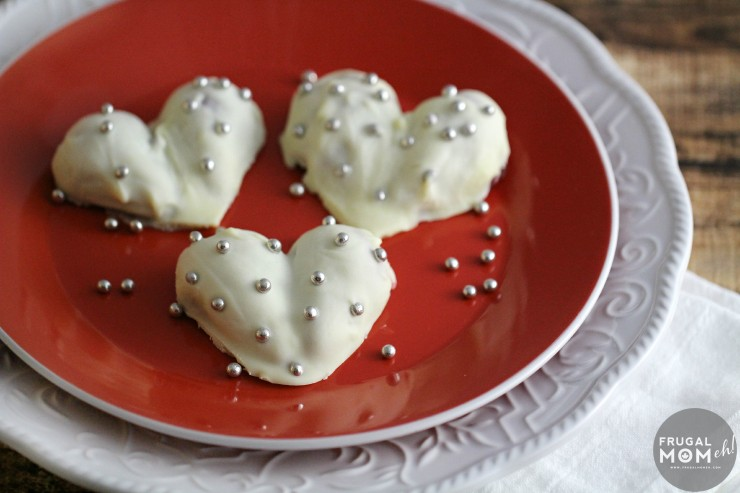 "White Chocolate Covered Strawberry Hearts are a simply and elegant Valentine's Day Dessert that really say ""I love you""!"