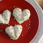 White Chocolate Covered Strawberry Hearts