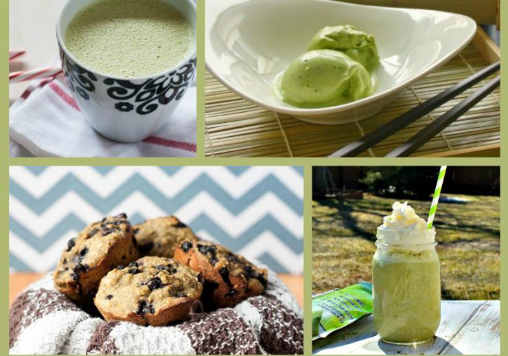 Kiss Me Organics Matcha Green Tea Powder PLUS 26 Recipes Featuring Matcha!