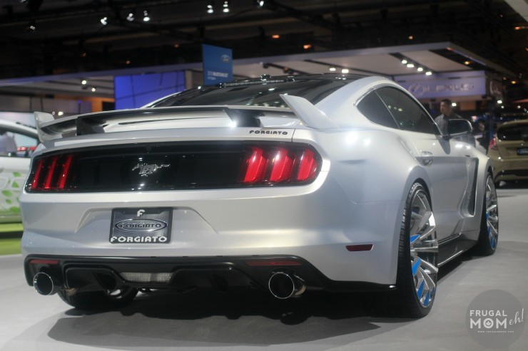 2015 Ford Mustang by Forgiato Back End