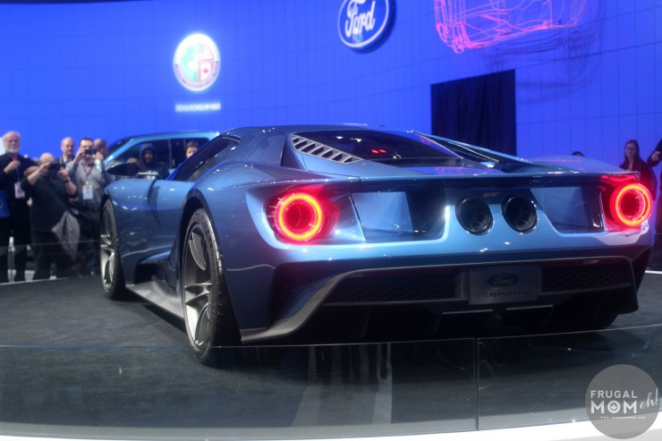 2016 Ford GT Back End