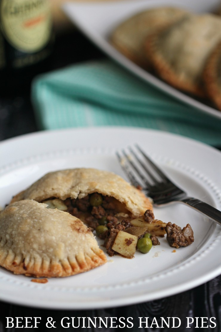 Beef and Guinness Hand Pies are a delicious twist on the traditional ...