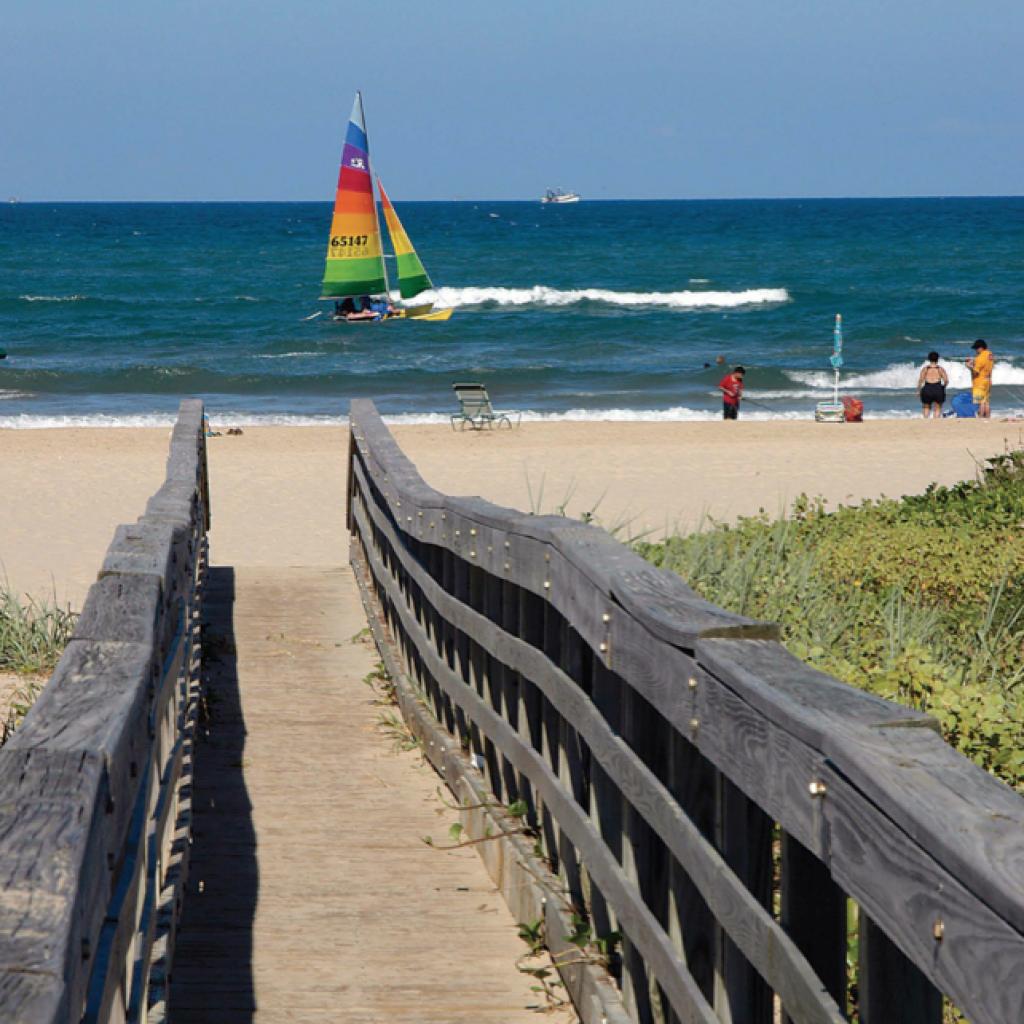 Texas Gulf Coast Beach