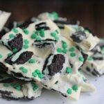 Mint Oreo Cookie Bark