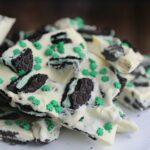 Mint Oreo Cookie Bark