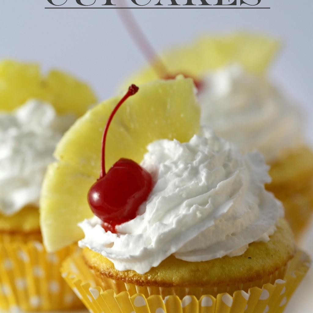 Pina Colada Cupcakes - Frugal Mom Eh!
