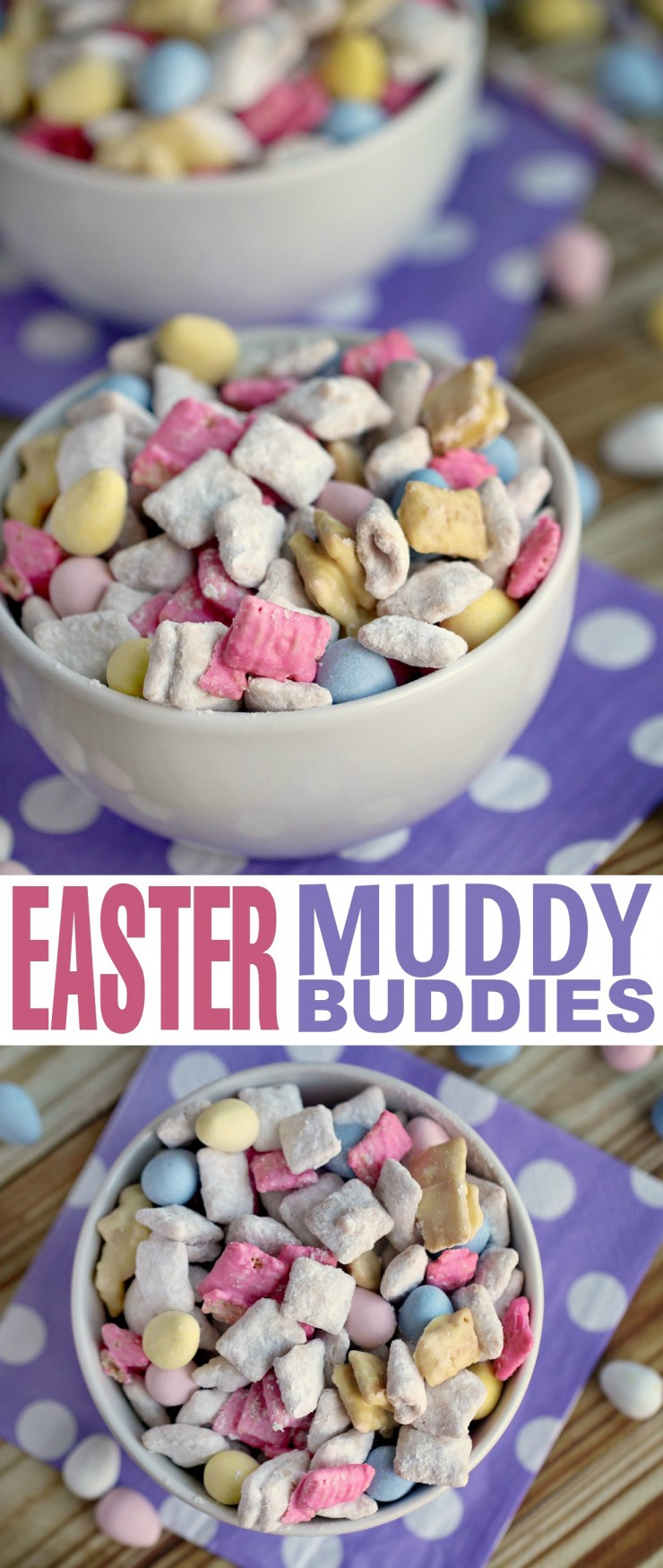 Easter Muddy Buddies Frugal Mom Eh