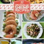 These 23 Spectacular Shrimp Recipes will get you inspired to try something new!  From appetizers to main dishes, these shrimp recpies truly are delicious!