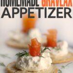 Gluten Free Homemade Gravlax Appetizer #BretonBean