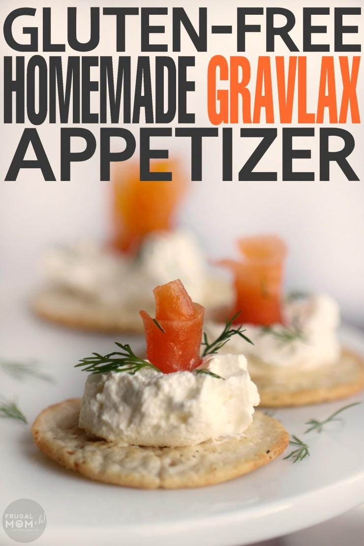 A Gluten Free Homemade Gravlax Appetizer with Creme Fraiche!