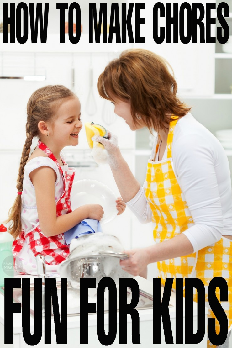 How to Make Chores Fun for Kids with great parenting tips and tricks.  This is priceless parenting advice to make parenthood easier! easier!