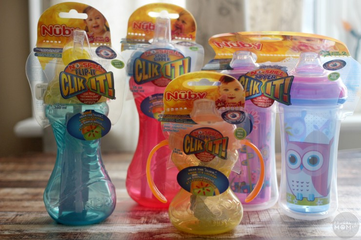 Nûby Clik-it Infant and Toddler Cups