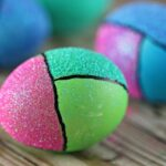 Colour Block Easter Eggs