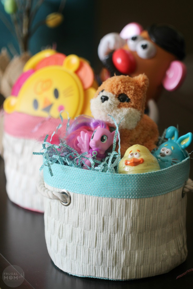 How to Make a Candy Free Easter Basket Kids will LOVE!