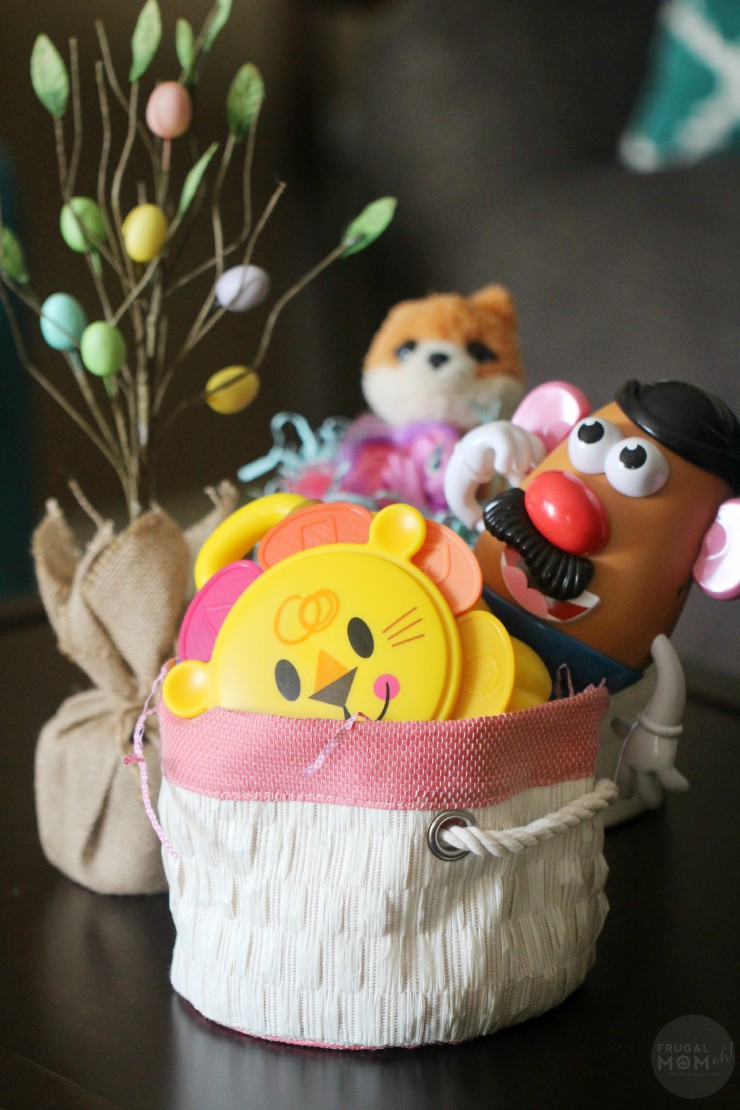 How to Make a Candy Free Easter Basket