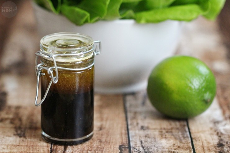 This Asian inspired Soy-Lime vinaigrette recipe is perfect to elevate and change up your everyday salad garden salad
