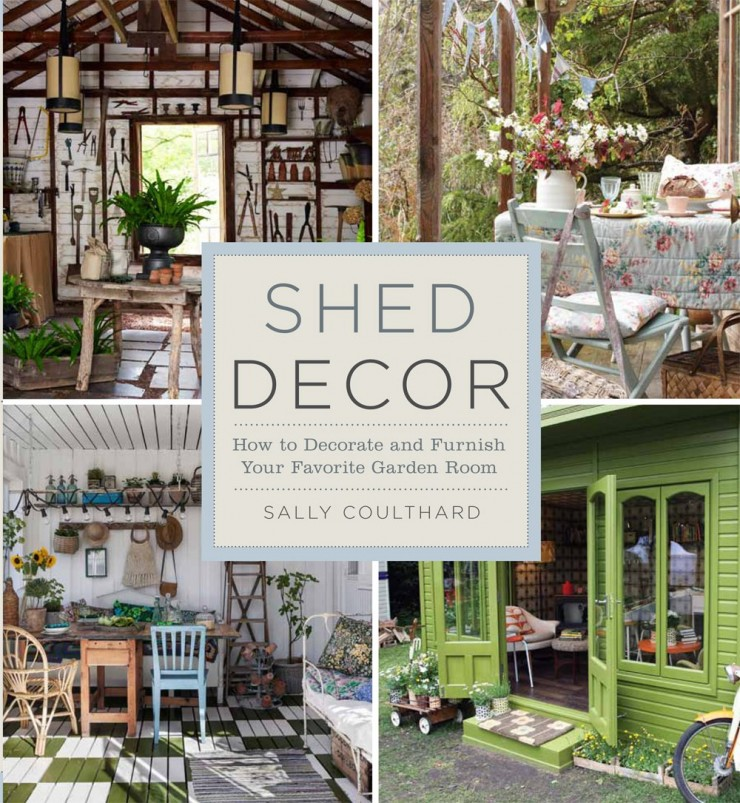 Shed Decor How To Decorate And Furnish Your Favorite Garden Room By Sally Coulthard on Home Office Furniture Design Ideas
