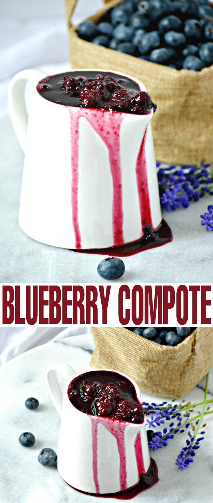 This Blueberry Compote recipe is perfect served over pancakes, ice cream, yoghurt, pound cake, cheesecake. The options are as endless as they are delicious!
