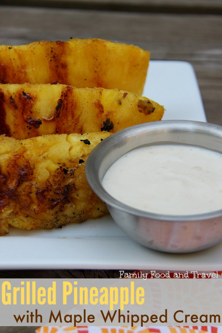 Grilled-Pineapple-with-Maple-Whipped-Cream-vertical