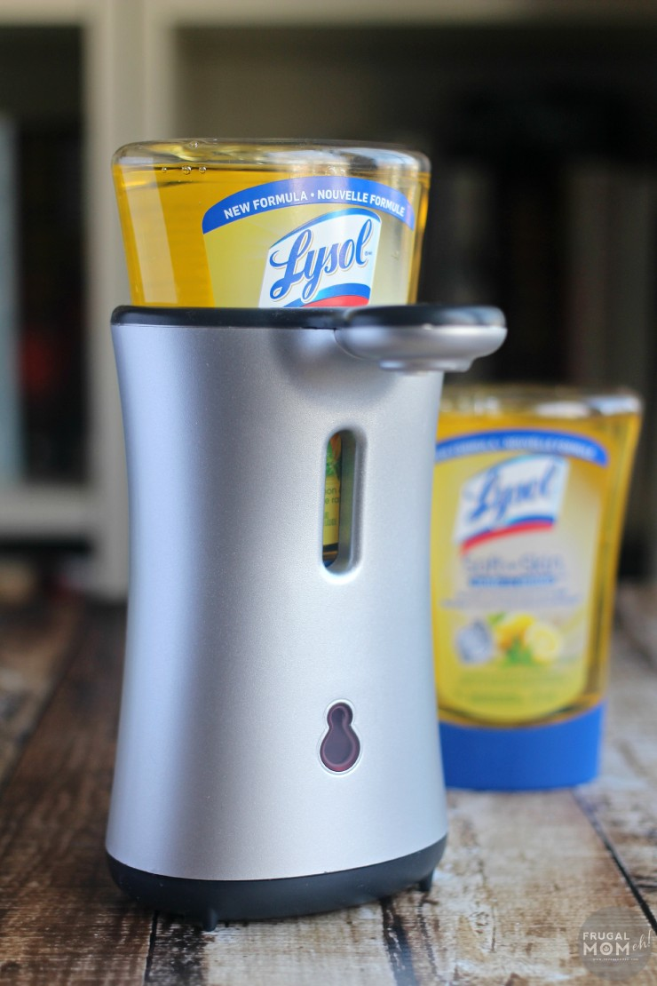 Lysol® No-Touch™ Hand Soap System