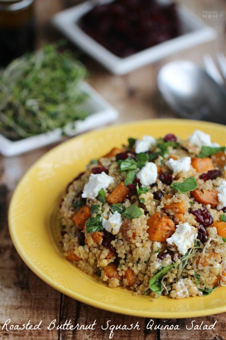 Roasted Butternut Squash and Quinoa Salad