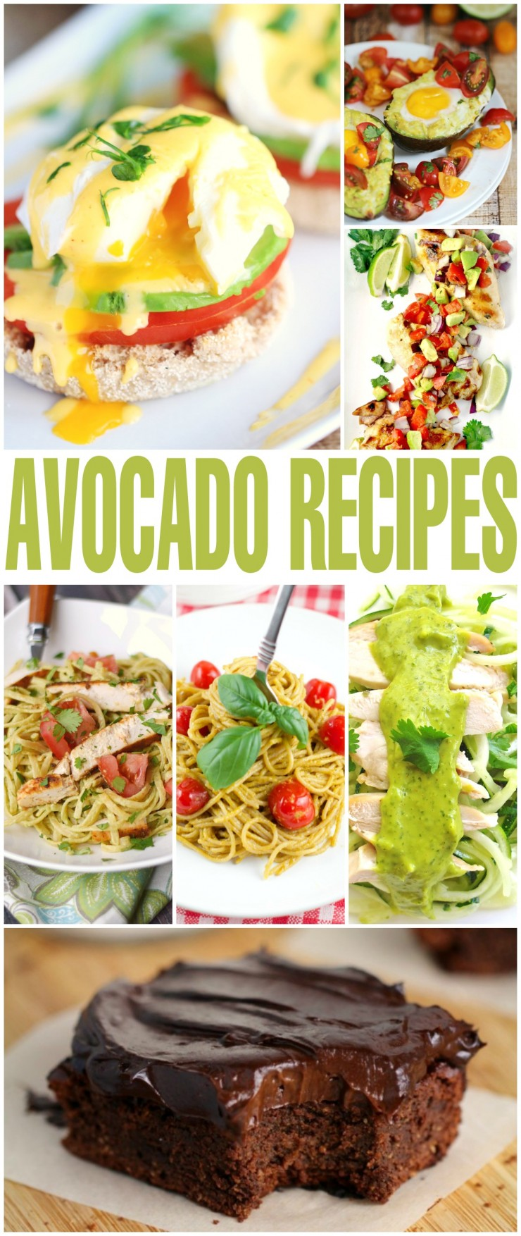Branch out from the typical guacamole recipes and check out these healthy avocado recipes that cover everything from breakfast to dessert and everything in between!