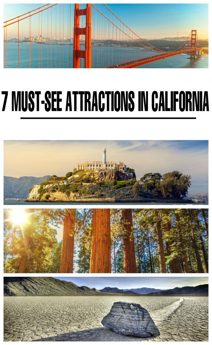 7 Must-See Attractions in California to consider for your next family vacation. California is the perfect Family Travel Destination!