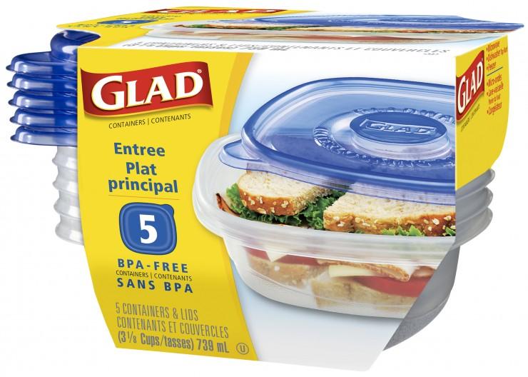 GLAD Ware Entree