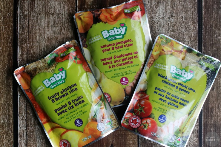 New Flavours from Baby Gourmet