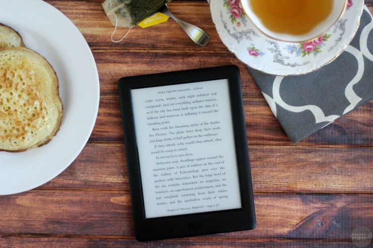 Read Anywhere with the Kobo Glo HD + Giveaway #KoboGloHD