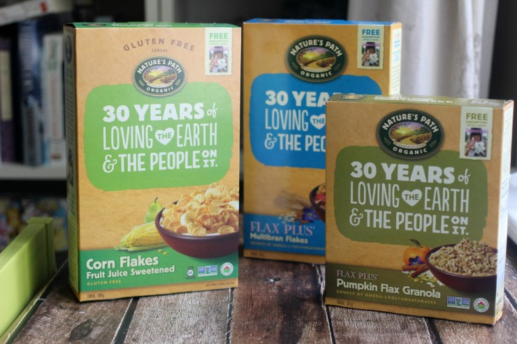 Nature's Path 30th Anniversary Giveaway Prize Pack (CAN/USA) Ends June 7th 2015