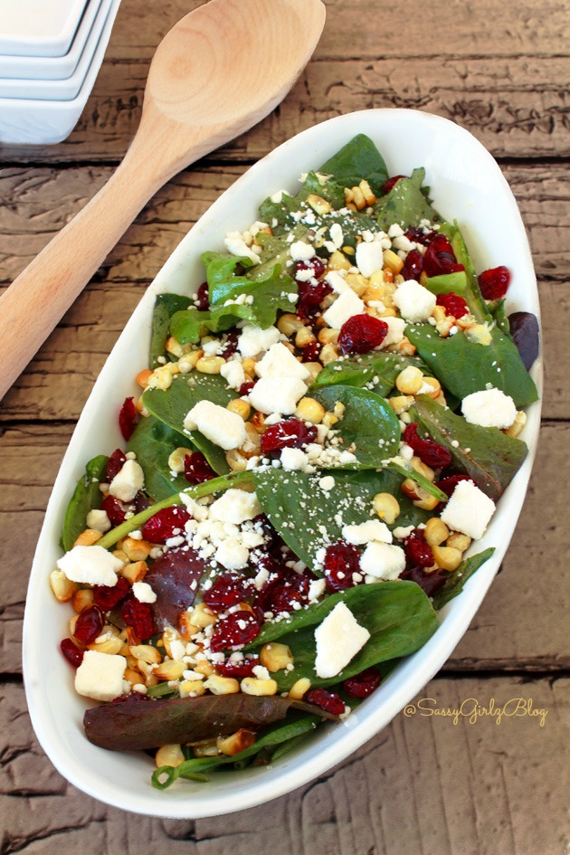 Summer-Feta-Spinach-Salad