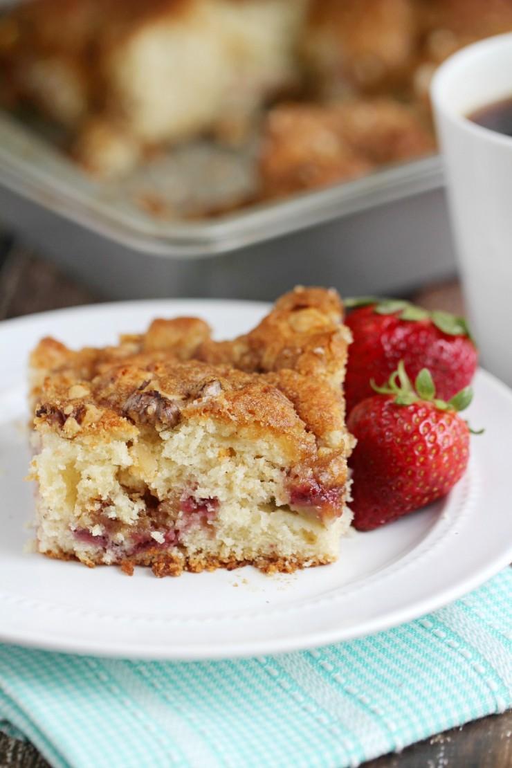 Rhubarb Coffee Cake Recipe Canadian Living