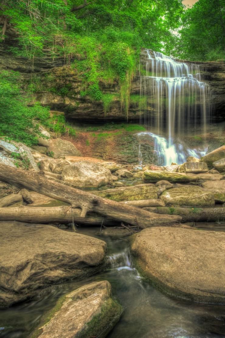 Bruce Tral -  Great Falls in Hamilton (Waterdown) Ontario